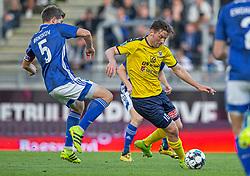 Pål Alexander Kirkevold (Hobro IK) under kampen i 3F Superligaen mellem Lyngby Boldklub og Hobro IK den 20. juli 2020 på Lyngby Stadion (Foto: Claus Birch).