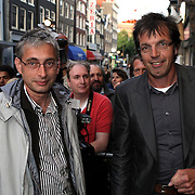 NLD/Amsterdam/20080901 - Premiere film Bikkel over het leven van Bart de Graaff, Jan Douwe Kroeske en broer Sieb