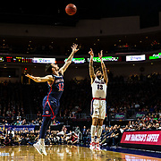 Mar 12 2019  Las Vegas, NV, U.S.A.Gonzaga guard Josh Perkins (13) takes a shot during the NCAA  West Coast Conference Men's Basketball Tournament championship between the Gonzaga Bulldogs and the Saint Mary's Gaels 47-60 lost at Orleans Arena Las Vegas, NV.  Thurman James / CSM