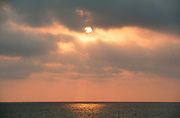 Sunset over sea, Ifaty, Madagascar