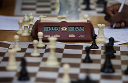 Phiona Mutesi, a 14-year-old chess prodigy, keeps a record of moves during a chess match, in Kampala, Uganda, Dec. 11, 2010. Mutesi lives in the slums of Uganda and is just now learning to read. But her instincts have made her a player to watch in international chess. Mutesi, a naturally talented chess player is coached by Robert Katende of Sports Outreach Ministry. The chess club meets at the Agape Church inside Katwe, the largest slum in Kampala.