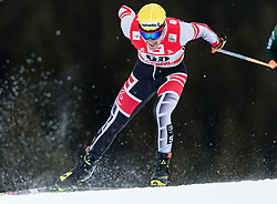 28.01.2018, Seefeld, AUT, FIS Weltcup Langlauf, Seefeld, FIS Weltcup Langlauf, 15 km Sprint, Herren, im Bild Dominik Baldauf (AUT) // Dominik Baldauf of Austria during men's 15 km sprint of the FIS cross country world cup in Seefeld, Austria on 2018/01/28. EXPA Pictures © 2018, PhotoCredit: EXPA/ Stefan Adelsberger