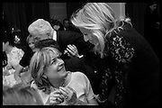 CATHERINE GUINNESS; PRINCESS CHANTAL OF HANOVER, Nicky Haslam hosts dinner at  Gigi's for Leslie Caron. 22 Woodstock St. London. W1C 2AR. 25 March 2015