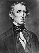 President John Tyler 1863.  10th President of the United States.