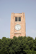 The Rolex clock in the Clocktower at Place d'Etoile (Nejmeh Square) in Beirut, Lebanon