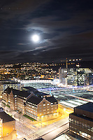 Oslo by night.<br />
