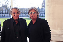 Left to right, SIR DAVID TANG and RICHARD CARING at the BRIC art sale preview (Brazil, Russia, India & China, the acronym BRIC here refers to the burgeoning contemporary art practices within these four countries.) organised by Phillips de Pury & Company at The Saatchi Gallery, London on 17th April 2010.