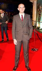 © London News Pictures. 07/11/2013. London, UK. Louis Paxton attending Virgin Media Shorts, BFI IMAX. Photo Credit: Raimondas Kazenas/LNP
