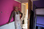 The decoration manager who assists volunteers from Longton Community Church to improve the lives of those in need in their local community, Leyland, Lancashire.