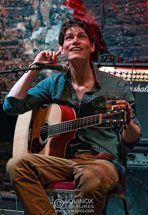 London, United Kingdom - 11 April 2013.Musician and model Sam Way performing at 12 Bar Club, Soho, London, England, UK..Contact: Equinox News Pictures Ltd. +448700780000 - Copyright: ©2013 Equinox Licensing Ltd. - www.newspics.com.Date Taken: 20130411 - Time Taken: 205306