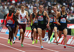 July 22, 2018 - London, United Kingdom - L-R Ryan Gregson  of Australia and Matthew Centrowitz of USA Compete in the 1500m Men during the Muller Anniversary Games Day One at The London Stadium on July 22, 2018 in London, England. (Credit Image: © Action Foto Sport/NurPhoto via ZUMA Press)