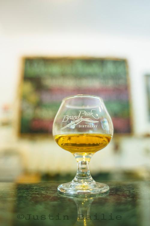 Brandy Peak Distillery. Brookings, Oregon.
