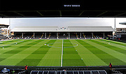 Fulham Football Club during the Sky Bet Championship match between Fulham and Milton Keynes Dons at Craven Cottage, London, England on 2 April 2016. Photo by Jon Bromley.