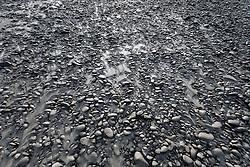 Sand and rocks along the Taku River, Northern B.C.