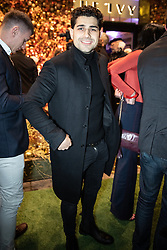 © Licensed to London News Pictures . 23/11/2018. Manchester , UK . Former Coronation Street actor Ryan Clayton arrives at an opening event of The Ivy restaurant and bar venue in Spinningfields in Manchester City Centre . Photo credit : Joel Goodman/LNP