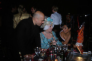 Mark Quinn, Katrine Boorman and Serena Rees. Selfridges Las Vegas dinner hosted by  hon Galen , Hillary Weston and Allanah Weston. Selfridges Oxford St. 20 April 2005. ONE TIME USE ONLY - DO NOT ARCHIVE  © Copyright Photograph by Dafydd Jones 66 Stockwell Park Rd. London SW9 0DA Tel 020 7733 0108 www.dafjones.com