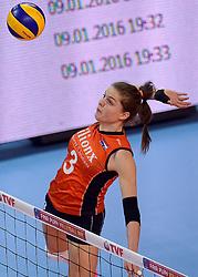 09-01-2016 TUR: European Olympic Qualification Tournament Rusland - Nederland, Ankara<br /> De strijd om Rio of Japan / Yvon Belien #3