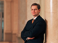 09 JAN 2004, BERLIN/GERMANY:<br /> Michael Mueller, SPD Fraktionsvorsitzender im Berliner Abgeordnetenhaus, Preussischer Landtag<br /> IMAGE: 20040109-01-05-12<br /> KEYWORDS: Michael Müller