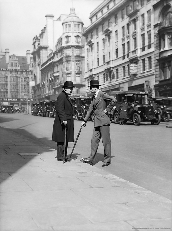 Men, St. James Street, London, 1933