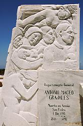 Monument to Antonio Maceo; Havana Province; Cuba,