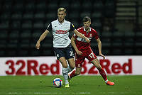 Preston North End's Jayden Stockley in action with  Middlesbrough's Paddy McNair<br /> <br /> Photographer Mick Walker/CameraSport<br /> <br /> The EFL Sky Bet Championship - Preston North End v Middlesbrough - Wednesday 9th December 2020 - Deepdale - Preston<br /> <br /> World Copyright © 2020 CameraSport. All rights reserved. 43 Linden Ave. Countesthorpe. Leicester. England. LE8 5PG - Tel: +44 (0) 116 277 4147 - admin@camerasport.com - www.camerasport.com
