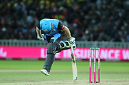 Worcestershire Rapids Ben Cox just in during the final of the Vitality T20 Finals Day 2018 match between Worcestershire rapids and Sussex Sharks at Edgbaston, Birmingham, United Kingdom on 15 September 2018.
