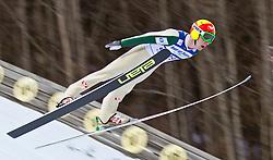 05.02.2011, Heini Klopfer Skiflugschanze, Oberstdorf, GER, FIS World Cup, Ski Jumping, 1. Wertungsdurchgang, im Bild Johan Remen (NOR) , during ski jump at the ski jumping world cup in Oberstdorf, Germany on 05/02/2011, EXPA Pictures © 2011, PhotoCredit: EXPA/ P. Rinderer