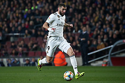 February 6, 2019 - Barcelona, Spain - Karim Benzema during the match between FC Barcelona and Real Madrid corresponding to the first leg of the 1/2 final of the spanish cup, played at the Camp Nou Stadium, on 06th February 2019, in Barcelona, Spain. (Credit Image: © Joan Valls/NurPhoto via ZUMA Press)