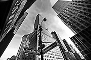 View of the Chrysler Building at the corner of Lexington Avenue and East 42nd street in midtown Manhattan, New York, 2010.