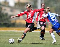 Fotball , 1. april 2008 , Privatkamp , La Manga , Kolbotn - Arna-Bjørnar 1-0<br /> <br /> Elise Thornes , Arna-Bjørnar