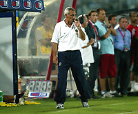 Ancona 12/08/2003<br />Trofeo Tim - Tim Cup <br />Hector Cuper allenatore dell'Inter<br /><br />Hector Cuper, Inter trainer