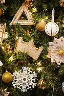Chrismons on Wednesday, Dec. 16, 2020, at Immanuel Lutheran Church, Festus, Mo. LCMS Communications/Erik M. Lunsford
