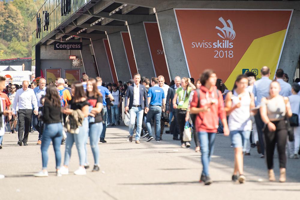 12. September 2018; Bern; swiss skills 2018  - Zuschauer auf dem Bernexpo Gelaende (Michael Zanghellini)