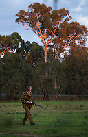 Lionel Swift, Duck hunting season opens near Howlong on the Murray River. Pic By Craig Sillitoe CSZ/The Sunday Age 22/3/2011 This photograph can be used for non commercial uses with attribution. Credit: Craig Sillitoe Photography / http://www.csillitoe.com<br /> <br /> It is protected under the Creative Commons Attribution-NonCommercial-ShareAlike 4.0 International License. To view a copy of this license, visit http://creativecommons.org/licenses/by-nc-sa/4.0/.