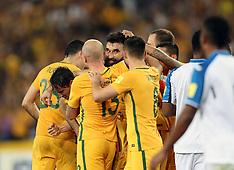 Australia v Honduras - 15 Nov 2017