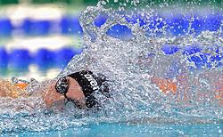 04-04-2015 NED: Swim Cup, Eindhoven<br /> Femke Heemskerk op de 100 m vrij<br /> Photo by Ronald Hoogendoorn / Sportida