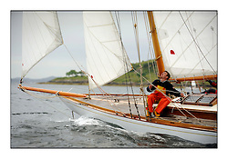 Day one of the Fife Regatta, Round Cumbraes Race.<br /> The Truant, Ross Ryan, GBR, Gaff Cutter 8mR, Wm Fife 3rd, 1910<br /> <br /> * The William Fife designed Yachts return to the birthplace of these historic yachts, the Scotland's pre-eminent yacht designer and builder for the 4th Fife Regatta on the Clyde 28th June–5th July 2013<br /> <br /> More information is available on the website: www.fiferegatta.com