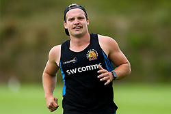 Stu Townsend  in action as Exeter Chiefs take part in stage one training as Premiership Rugby clubs take the first steps towards a return to play in August after the Covid-19 enforced break - Rogan/JMP - 19/06/2020 - RUGBY UNION - Sandy Park - Exeter, England - Gallagher Premiership.