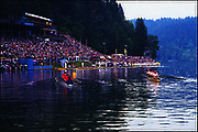 1989 World Rowing Championships, Lake Bled, Slovenia, YUGOSLAVIA,  .Photo  Peter Spurrier. .email images@intersport-images.Originals Transparencies . Rowing course: Lake Bled