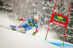 Adam Zampa of Slovakia during 2nd run of Men's Giant Slalom race of FIS Alpine Ski World Cup 57th Vitranc Cup 2018, on March 3, 2018 in Podkoren, Kranjska Gora, Slovenia. Photo by Ziga Zupan / Sportida