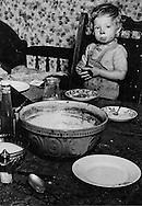 Unemployed miner's child, 1937