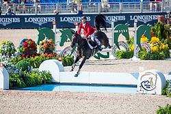 BRUYNSEELS Niels (BEL), Cas de Liberte<br /> Tryon - FEI World Equestrian Games™ 2018<br /> 2. Qualifikation Teamwertung 1. Runde<br /> 20. September 2018<br /> © www.sportfotos-lafrentz.de/Stefan Lafrentz