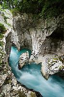 "River Soca (""Velika korita"", ""Grand Canyon"")<br /> Triglav National Park, Slovenia<br /> June 2009"
