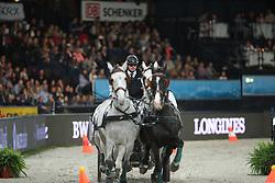 Dobrovitz, Jozsef  (HUN), <br /> Stuttgart - German Masters 2015<br /> Fahren Weltcup<br /> www.sportfotos-lafrentz.de