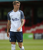 Preston North End's Emil Riis<br /> <br /> Photographer Stephen White/CameraSport<br /> <br /> Football Pre-Season Friendly - Accrington Stanley v Preston North End - Saturday 24th July 2021 - Crown Ground - Accrington<br /> <br /> World Copyright © 2021 CameraSport. All rights reserved. 43 Linden Ave. Countesthorpe. Leicester. England. LE8 5PG - Tel: +44 (0) 116 277 4147 - admin@camerasport.com - www.camerasport.com