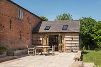 The Hollins Barn Conversion Holiday let, Shrewsbury, Shropshire, UK