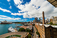 The Rocks, Circular Quay and the Sydney Opera House, Sydney, New South Wales, Australia