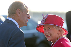File photo dated 24/11/09 of Queen Elizabeth II and the Duke of Edinburgh smiling as they meet well wishers in King's Square, St George, Bermuda, at the beginning of a three day tour of the island. The couple had a strong bond but were different in character and the Duke of Edinburgh never shied away from telling his wife exactly what was what. Issue date: Friday April 9, 2021.