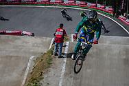 #380 (DE SOUZA FILHO Anderson Ezequiel) BRA during round 4 of the 2017 UCI BMX  Supercross World Cup in Zolder, Belgium.