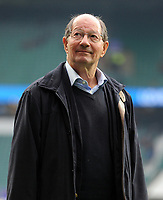 Football - 2018 Autumn International (Quilter Internationals) - England vs. Australia<br /> <br /> BBC Commentator Ian Robertson looks around the Stadium before commentating on his last match before retirement , at Twickenham.<br /> <br /> COLORSPORT/ANDREW COWIE